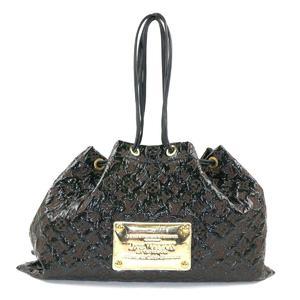 LOUIS VUITTON Ladies' Shoulder Bag Noir Monogram Elvinil M95259