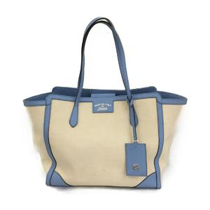GUCCI Gucci Shoulder Tote Bag Ladies Canvas Leather