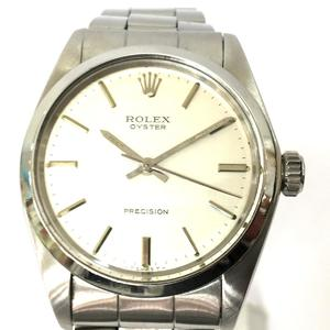 ROLEX Rolex Oyster Precision Wrist Watch Mens Manual watch Stainless Steel SS 6426