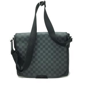 LOUIS VUITTON Louis Vuitton Daniel MM Shoulder Bag Men's Damier Graphite N58029