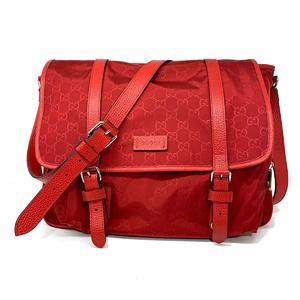 GUCCI Gucci Shoulder Bag Ladies Outlet Nylon Leather 510334