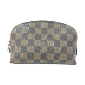 LOUIS VUITTON Louis Vuitton Pochette Cosmetics Cosmetic Pouch Damier N47516