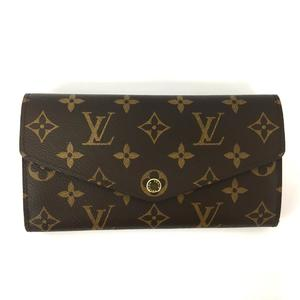 LOUIS VUITTON Louis Vuitton Portofeuil Sala Ladies Long Wallet Rose Ballerine Monogram M62235