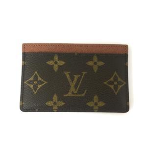 LOUIS VUITTON Port Veuille Sambre Card Case Business Holder Monogram M61733