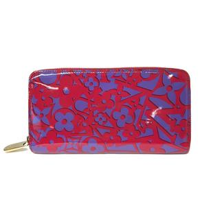 LOUIS VUITTON Louis Vuitton Zippy Wallet Long Rose Andian Verni M90123