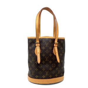 LOUIS VUITTON Louis Vuitton bucket 23 shoulder bag tote monogram M42238