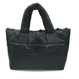 CHANEL Coco Tote PM Bag Ladies Handbag Nylon