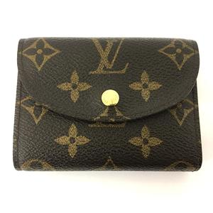 LOUIS VUITTON Louis Vuitton Portofeuil Helene tri-fold wallet purse monogram M60253
