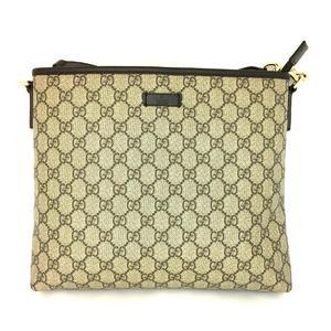GUCCI Gucci GG plus shoulder bag PVC coating 388924