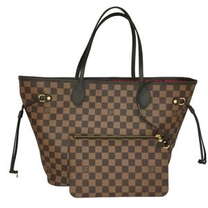 LOUIS VUITTON Louis Vuitton Neverfull MM Tote Bag Damier N41358