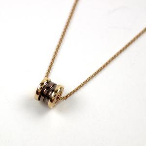 BVLGARI Bvzeroli Necklace K18PG 750 pink gold