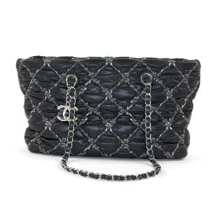 CHANEL Chain Tote Bag Ladies Nylon 14723527