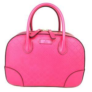 GUCCI Gucci Bright Diamante 2way shoulder bag handbag leather 354224