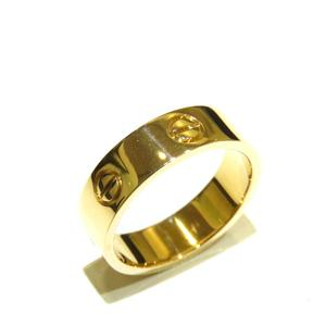 Cartier Love Ring K18YG 750 Yellow Gold # 57 16.5