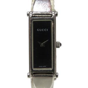 GUCCI Gucci 1500L Watch Quartz Stainless Steel SS