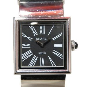 CHANEL Mademoiselle Watch Ladies Quartz Stainless Steel SS H0826
