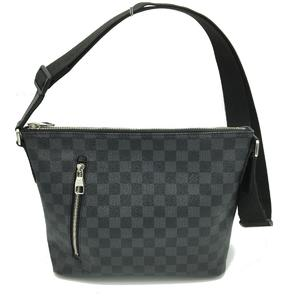 LOUIS VUITTON Louis Vuitton Mick PM Shoulder Bag Men's Damier Graphite N41211