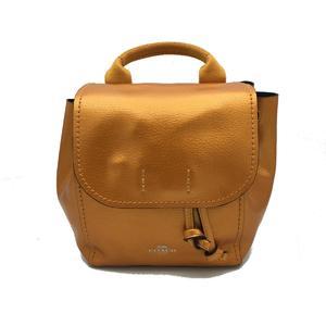 COACH coach rucksack backpack leather F16605