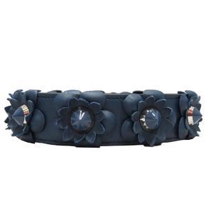 FENDI Fendi Strap You Shoulder Flower SALE Blue 8AV077