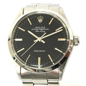 ROLEX Rolex Air King Watch Men's Manual Stainless Steel SS 5500
