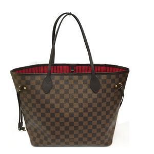LOUIS VUITTON Louis Vuitton Neverfull MM Shoulder Bag Tote Damier N41358