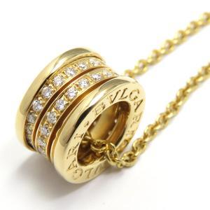 BVLGARI Bvzerori B-zero1 Diamond Necklace Bee Zero One K18YG 750 Yellow Gold No Stone Marks