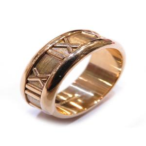 TIFFANY & CO Tiffany Atlas ring K18YG 750 yellow gold No. 7.5