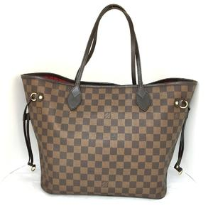 LOUIS VUITTON Louis Vuitton Neverfull MM Tote Bag Damier N51105