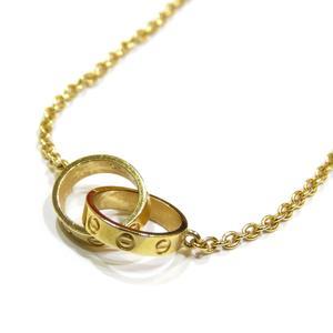 Cartier Baby Love Necklace Bracelet K18YG 750 Yellow Gold SR1319