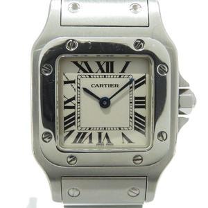 Cartier Santos Galve SM Watch Ladies Quartz Stainless Steel SS