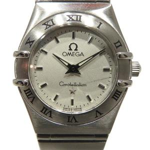 OMEGA Omega Constellation Watch Wrist Quartz Stainless Steel SS