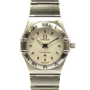 OMEGA Omega Constellation Ladies Watch Quartz Stainless Steel SS 15623000