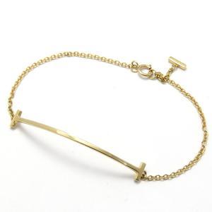TIFFANY & CO Tiffany T Smile Bracelet K18YG 750 Yellow Gold 2.5g