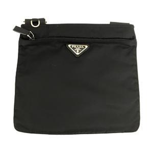 PRADA Prada Nylon Shoulder Bag Men Women Ladies Black