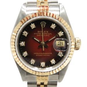 ROLEX Rolex Datejust Watch Wrist Ladies Automatic K18YG 750 Yellow Gold Stainless Steel SS 69173G