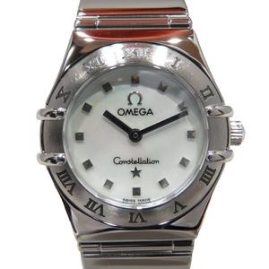 OMEGA Omega Constellation Mini Choice Watch Wrist Ladies Quartz Stainless Steel SS 1561.71