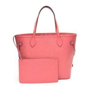 LOUIS VUITTON Louis Vuitton Neverfull MM Tote Bag Corail Epi M41093
