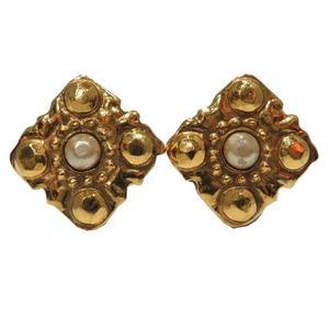 CHANEL Pearl Earring GP