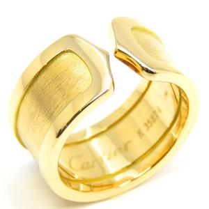 Cartier C2 ring LM K18YG 750 yellow gold # 53 12