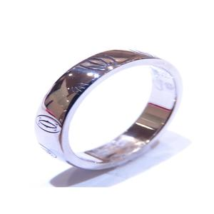 Cartier Happy Birthday Ring K18WG 750 White Gold # 49 No. 9