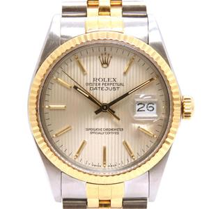 ROLEX Rolex Datejust '86 Watch Men's Automatic K18YG 750 Yellow Gold Stainless 16013 94th