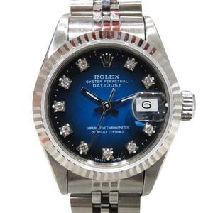 ROLEX Rolex Datejust Watch Wrist Ladies Automatic K18YG 750 Yellow Gold Stainless Steel SS 69174G