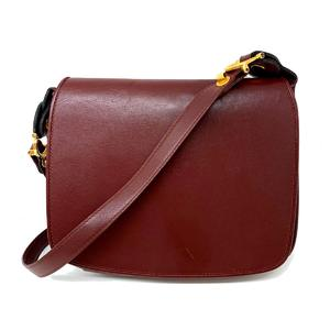 Cartier Shoulder Bag Ladies Calf