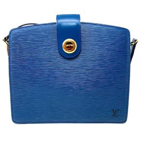 LOUIS VUITTON Louis Vuitton Capuchin Shoulder Bag Ladies Toledo Blue Epi M52345