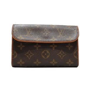 LOUIS VUITTON Louis Vuitton Pochette Florentine Waist Bag Monogram M51855