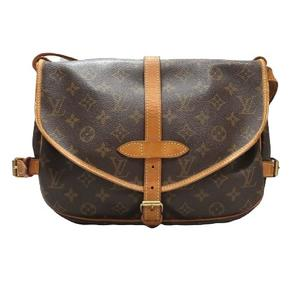 LOUIS VUITTON Louis Vuitton Saumur 30 Shoulder Bag Men Women Ladies Monogram M42256