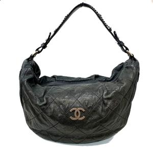 CHANEL Wild Stitch One Shoulder Ladies Bag Caviar Skin