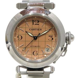 CARTIER Pasha C Watch Boys Automatic Stainless Steel