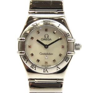 OMEGA Omega Constellation Mini Ladies Watch Quartz Stainless Steel SS 1561.71