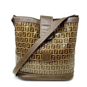 FENDI Shoulder bag Ladies shoulder PVC coating
